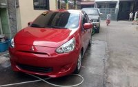 Selling Red Mitsubishi Mirage 2015 in Quezon