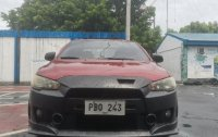 Red Mitsubishi Lancer 2010 for sale in Taguig