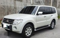 Pearl White Mitsubishi Pajero 2011 for sale in Makati