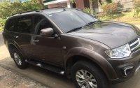 Sell Brown 2015 Mitsubishi Montero Sport in Las Piñas