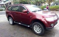 Red Mitsubishi Montero Sport 2013 for sale in Makati City