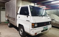 White Mitsubishi L300 2008 for sale in Quezon City