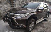 Selling Black Mitsubishi Montero Sport 2017 in Makati