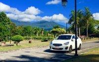 Selling White Mitsubishi Mirage 2015 in Makati