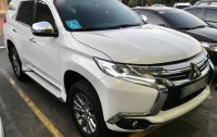 Pearlwhite Mitsubishi Montero 2016 for sale in Paranaque
