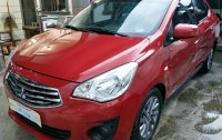 Selling Red Mitsubishi Mirage G4 2017 in Baliuag