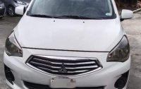 Selling White Mitsubishi Mirage G4 2016 in Alaminos