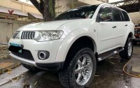 White Mitsubishi Montero 2011 for sale in Caloocan
