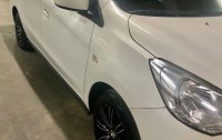 Selling White Mitsubishi Mirage 2015 in Taguig