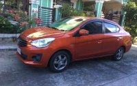 Selling Orange Mitsubishi Mirage 2019 in Manila