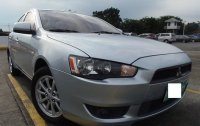 Brightsilver Mitsubishi Lancer 2010 for sale in Manila