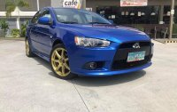 Selling Blue Mitsubishi Lancer 2013 in Quezon