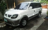 Selling White Mitsubishi Adventure 2008 in Mandaue