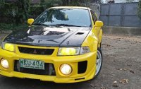 Selling Yellow Mitsubishi Lancer Evolution 1998 in Pasig