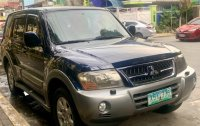 Blue Mitsubishi Pajero 2005 for sale in Alimodian