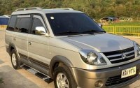Selling Grey Mitsubishi Adventure 2015 in Dagupan