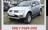 Selling Brightsilver Mitsubishi Montero Sport 2012 in Mandaue
