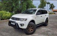 White Mitsubishi Montero 2012 for sale in Guiguinto