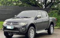 Silver Mitsubishi Strada 2012 for sale in Las Piñas