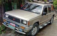 Selling Brightsilver Mitsubishi L200 1995 in Rosario