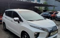 Pearl White Mitsubishi XPANDER 2019 for sale in Quezon