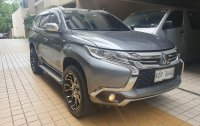 Selling Silver Mitsubishi Montero Sport 2016 in Noveleta