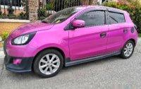 Selling Pink Mitsubishi Mirage 2015 Sedan in Santa Rosa