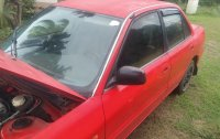 Red Mitsubishi Lancer 1993 for sale in Batangas