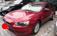 Red Mitsubishi Lancer 2013 for sale in Automatic