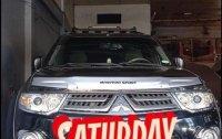 Sell Black 2014 Mitsubishi Montero sport in Obando