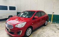 Red Mitsubishi Mirage 2017 for sale in Caloocan