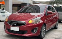 Red Mitsubishi Mirage 2015 for sale in Manual