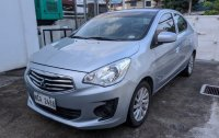 Silver Mitsubishi Mirage G4 2018 for sale in Manual