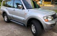 Brightsilver Mitsubishi Pajero 2002 for sale in Taguig