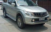 Silver Mitsubishi Strada 2018 for sale in Quezon City