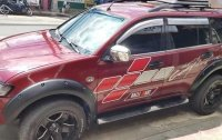 Red Mitsubishi Montero Sport 2011 for sale in Silang