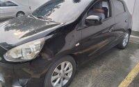 Black Mitsubishi Mirage 2013 for sale in Antipolo