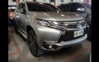 Selling Silver Mitsubishi Montero Sport 2016 SUV / MPV Automatic in Quezon City