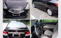 Selling Black Mitsubishi Mirage G4 2014 in Manila