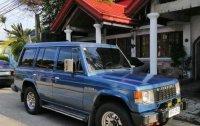 Blue Mitsubishi Pajero 1989 for sale in Quezon