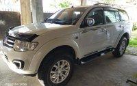 Selling Pearl White Mitsubishi Montero Sport 2015 in Baguio