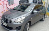 Silver Mitsubishi Mirage G4 2016 for sale in Caloocan
