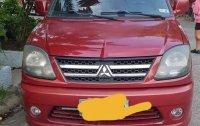 Red Mitsubishi Adventure 2011 for sale in Manila