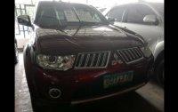 Red Mitsubishi Montero Sport 2012 SUV at 46000 for sale