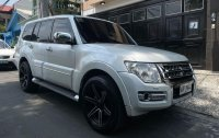 Sell Pearl White 2015 Mitsubishi Pajero in Manila