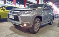 Selling Grey Mitsubishi Montero Sport 2018 in Quezon City