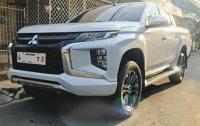 Pearl White Mitsubishi Strada 2019 for sale in Manual