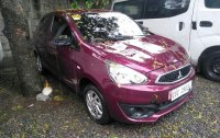 Pink Mitsubishi Mirage 2019 for sale in Manual