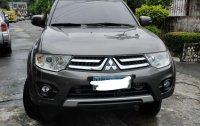 Grey Mitsubishi Montero 2014 for sale in Quezon City