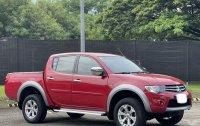 Red Mitsubishi Strada 2012 for sale in Automatic